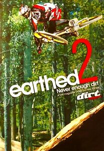 113??sealed-EARTHED 2 NEVER ENOUGH DIRT R0 Dvd Rare