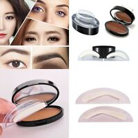 Eyebrow Powder Makeup Brow Stamp Palette Delicated Shadow Definition Natural NEW