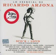 CD - Lo Esencial De Ricardo Arjona NEW 3 CD's & 1 DVD FAST SHIPPING !
