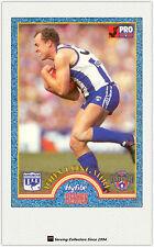 1996 Tip Top Hyfibe AFL Heroes Card #14 John Longmire (Kangaroos)