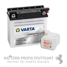 VARTA Motorrad Batterie 12V 5.5 Ah 12N5.5-3B inkl Säurepack 506011004 Neu
