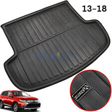 Boot Liner Rear Trunk Mat Cargo Tray For Mitsubishi Outlander 13-18 Black