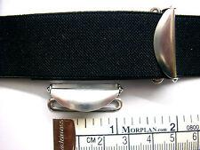 Suspender, Garter, Lever Adjusters 1 inch, 25mm, Four