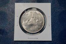 A-104 1969 Canada Dollar $1 Voyageur Elizabeth II Canadian RCM Nice Condition