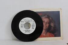 """45 RECORD 7""""- JEANNE NAPOLI - LET'S MAKE LOVE   PROMO COPY"""