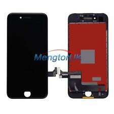 Black LCD Display Touch Screen Digitizer Frame Assembly for iPhone 7 4.7''