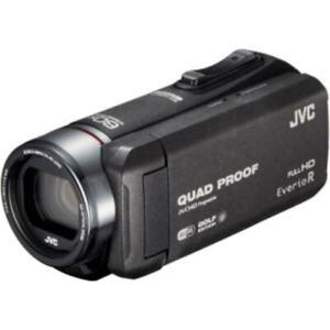 USED JVC Kenwood GZ-GX100-B Jvckenwood JVC Video Camera Everio R Sports Golf Wa