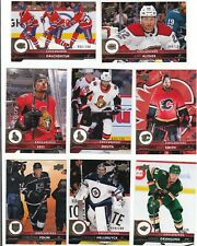 17/18 2017/18 Upper Deck Series 2 Exclusives #279 Mike Smith Flames /100
