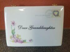 Ardleigh Elliott Dear GrandDaughter Music Box Plays You Are So Beautiful 2005