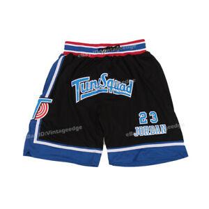 Space Jam Michael Jordan #23 Basketball Shorts Tune Squad Front Beach Short