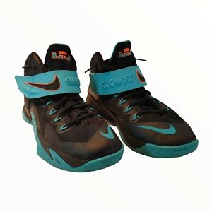 NIKE LEBRON SOLDIER VIII 8 BASKETBALL SHOES DUSTY CACTUS 653645-005 Size 7Y