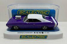 Scalextric DODGE CHARGER R/T - PURPLE 1/32 Slot Car C4148