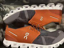ON Cloud 50/50 Walking/Running Shoes | Grey/Orange | Men's Size US 10.5 | NEW