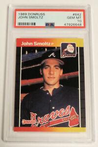 John Smolz 1989 Donruss #642 Gem Mint PSA 10