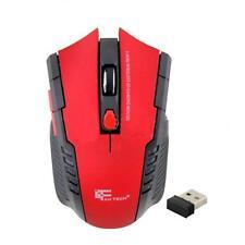 2.4Ghz Mini 15M Inalámbrico USB Optico Gaming Mouse Ratones para portátil PC