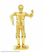 Fascinations Metal Earth 3D Laser Cut Model Kit Star Wars Gold C-3PO MMS270