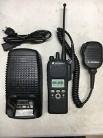 Motorola XTS2500 II 700 800mhz P25 Digital Radio H46UCF9PW5BN 500018-000488-0