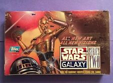 Star Wars Galaxy Series 2 Topps Trading Cards,Factory Sealed 36 Foil Packs,NICE!