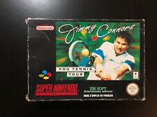 Jimmy Connors Pro Tennis Tour Nintendo SNES - Complet FR Version