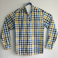 Men's Blue Harbour Reg Fit Super Soft Cotton Long Sleeve Shirt Size L