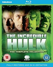 THE INCREDIBLE HULK 1-5 1977-1982 COMPLETE RESTORED ORIGINAL TV Series RB BLURAY