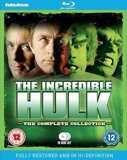 THE INCREDIBLE HULK 1-5 1977-1982 COMPLETE RESTORED ORIGINAL TV Series UK BLURAY