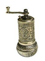 Turkish Handmade Grinder, Spice Grinder, Salt Grinder,Pepper Mill 4.4''(ANTIQUE)