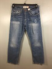 MENS LEVIS SLIM STRAIGHT 514 DENIM BLUE JEANS 31X32 Used Mint Condition Western