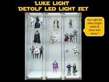 Luke Light LED light Kit for Ikea Detolf - Bright White Tone - Kaws