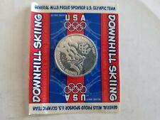1998 Nagano Olypics Downhill Skiing Coin Token General Mills