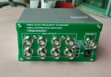 OCXO  10MHz Distribution amplifier OCXO frequency standard 8 port output 2019