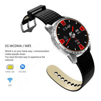 Android Smart Watch KW99 3G Phone 8GB Bluetooth Heart Rate SIM Sports GPS WIFI