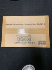 Dragon Ball Super CCG Tournament Kit 04 Sealed w/ promo packs Card Game Bandai