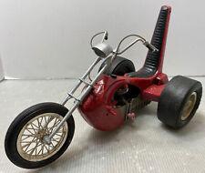 E106 Vintage Special Cox Chopper Trike Car Thimble Drome Motorcycle Red
