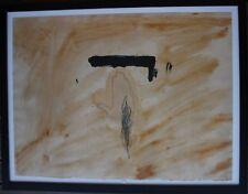 Antoni TAPIES Tapiès - Gravure etching grabado litografia signée 1972 *