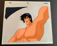 CITY HUNTER  - RYOU SAEBA production anime cel A3P ~ Ray Rohr Cosmic Artifacts
