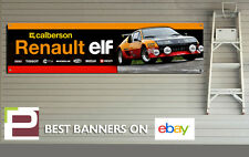 Renault Alpine A310 V6 Garage Banner for Workshop, Garage, Retro, Group B rally