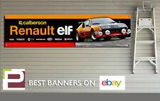 Renault Alpine A310 V6 garaje Banner para taller, garaje, Retro, grupo B Rally