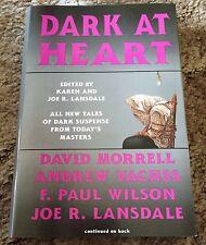 DARK AT HEART Joe R. & Karen Lansdale (eds) 1st ed 500 copy SIGNED/LIMITED HC OP