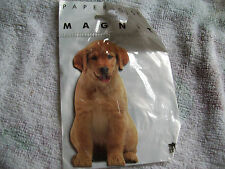 REFRIDGERATOR MAGNET BY PAPER HOUSE PRODUCTIONS. LABRADOR