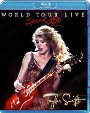 TAYLOR SWIFT - Speak Now World Tour Live BLU-RAY *NEW* Concert, Fearless