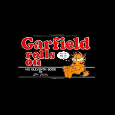 Garfield Rolls On paperback book 11 Jim Davis FREE SHIPPING comic cat