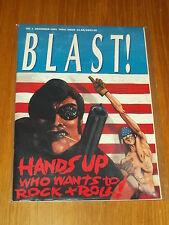 BLAST #7 DECEMBER 1991 FINAL ISSUE UK US MAGAZINE^