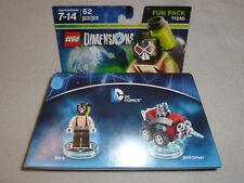 New Dc Comics Bane Mini Figure Fun Pack 71240 Lego Dimensions Minifig Nib Set >>