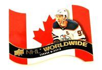 2020-21 UD Series 1 Connor McDavid NHL Worldwide Die-Cut SP - Edmonton Oilers