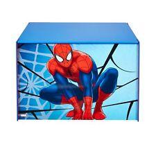 Spider-Man Marvel Kids Toy Box - Childrens Bedroom Storage Chest with Bench... .