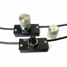 ZE-256 Lámpara de Mesa Luz de Pared de reemplazo Latón Interruptor Regulador Giratorio Para Zing oreja