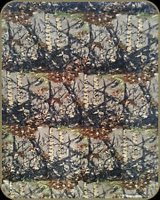 Camo Camouflage Woods Luxury Soft Warm Baby Wrap Throw Blanket Apx 40 in x 50 in