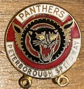 Speedway Badge Peterborough Panthers