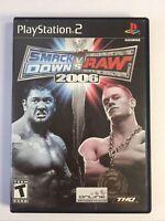 WWE SmackDown vs. Raw 2006 (Sony PlayStation 2, 2005) No Manual